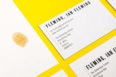 Historical Figures' Letterheads - Ian Fleming