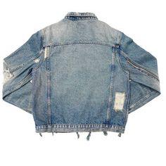 Tyga Wears 424 Jean Jacket, Amiri Jeans and Yeezy Boost Sneakers in LA UpscaleHype