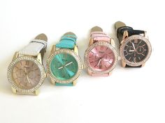 Crystal Round Classic Strap
