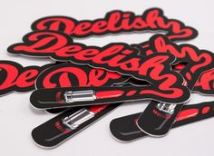 Deelish Stickers