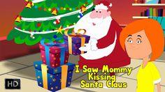 I Saw Mommy Kissing Santa Claus - Popular Christmas Carol with Lyrics