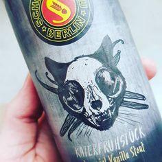 The legendary Katerfrühstück Vanilla Stout  by Schoppebräu, Berlin. Very nicely done. . . . . . . #craftbeernotcrapbeer #schoppebräu #schoppebrau #bkl18 #germanbeer #beerpics #beerporn #hutmacher #stout #vanillastout #krautstout #beersofinstagram #craftbeer #beerstagram #tasting #vanilla #strong #starkøl #berlin #munich