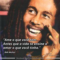 """""""Ame o que você tem, antes que a vida te ensine a amar o que você tinha."""" (Bob Marley)  Aprenda Como Ganhar Massa Muscular Aplicando  7 Truques Que Você Nunca Sonhou Que Existisse:  Acesse Agora ➡ https://SegredoDefinicaoMuscular.com/ #boanoite #goodnight #inspiração #inspiration #ComoDefinirCorpo"""
