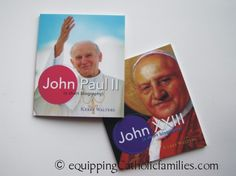 2 awesome pope books about our newest Saints (Apr 27!) @Jocelyn Mainard
