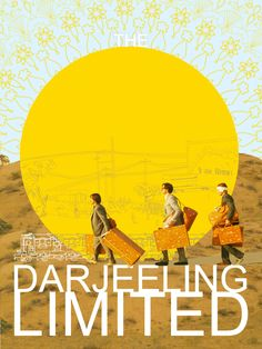 """The Darjeeling Limited:  I love the writing for this Wes Anderson film because the believable way the characters are written to be brothers that do not like each other but need each other as badly as Bill Murray needed to catch that train. Oh, and nods to the obvious """"baggage"""" symbolism."""