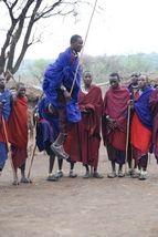 Maasai share their culture through their jumping dance when you visit a village #communityheart