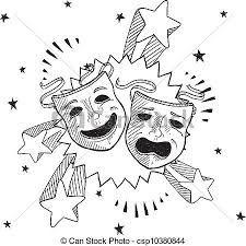 Bildergebnis für masken theater symbol