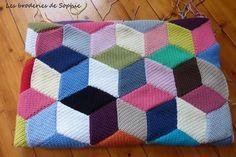 Vasarely Blanket (4)