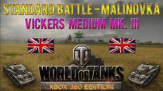 This is a Standard Battle taking place at Malinovka map with Vickers Medium Mk. III tank in World of Tanks: Xbox 360 Edition, won with 687 experience.