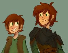 Hiccup before and now!