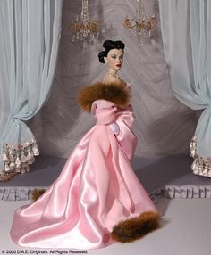 """Champagne Jubilation"" Fashion Only - Circa 1947, LE: 150 • Alternate side view."