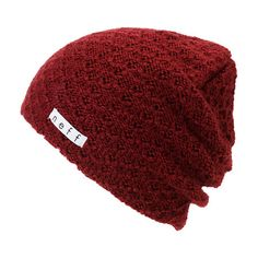 b4a9ea63ebe This beanie is made with a thick crochet construction in a Maroon colorway  for cozy look that will keep you stylin  from the hill tops to the streets.