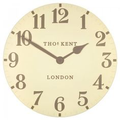 Thomas Kent Arabic Wall Clock in Cream – Next Day Delivery Thomas Kent Arabic Wall Clock in Cream from WorldStores: Everything For The Home Cream Wall Clocks, Thomas Kent Clocks, Value Furniture, Furniture Village, Kitchen Clocks, Wall Clock Online, Wall Clock Design, Living Room Storage, Printables