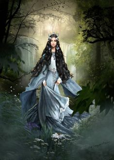 Elves-of-Tolkien on DeviantArt Fantasy Women, Fantasy Girl, Dark Fantasy, Character Portraits, Character Art, Fantasy Characters, Female Characters, Arte Aries, Illustration Fantasy