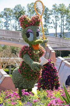 Epcot Flower and Garden Festival ...We went a couple of years ago and would love to go back!
