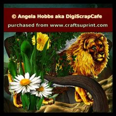 The Lion King by Angela Hobbs The Lion King Limited Resale Bundle In Honor of Cecil! It contain 7 png images of lions and tigers,  in full size, 300 DPI NOTE: Plants and other images are not included, only the animals. Commercial Use OK, No Resale as is