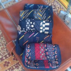 Recycled Fashion: Gabby Lane Accessories Upcycled Necktie Bags