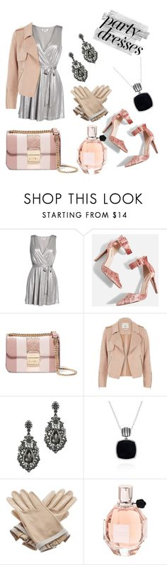 """Untitled #5"" by teresamartins13 ❤ liked on Polyvore featuring BB Dakota, Topshop, MICHAEL Michael Kors, River Island, Belk & Co., Hermès, Viktor & Rolf, Pink and grey"