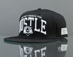 YOU CAN'T KNOCK THE HUSTLE HATS Cayler & Sons snapback caps brand new men's baseball hats black ! $9.99