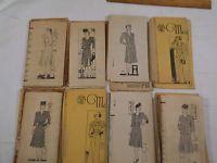 Lot- 8 Vintage 1930s-1940s MARIAN MARTIN Dress,Skirt,Jacket Patterns- Sz 14,40