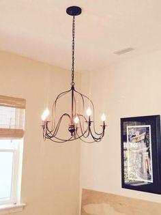 Rustic Wire Chandelier | World Market