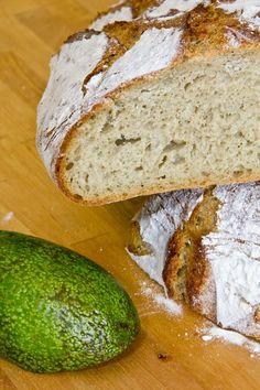 Grün und gut: Avocado-Brot