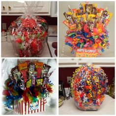 Candy Bouquets How To Make