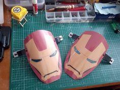 Iron Man Mask / Free Template / Demir Adam Maskesi #ıronmanmask #mask #ıronman #ıronmankidsmask Computer Mouse, Iron Man, Home Appliances, Free, Pc Mouse, House Appliances, Iron Men, Appliances, Mice