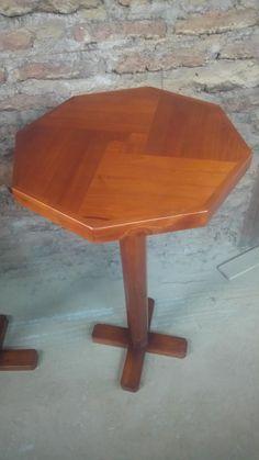 Mesa ⛩ para bar x de madera reciclada
