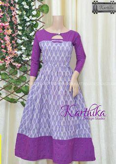 Simple Gown Design, Long Dress Design, Dress Neck Designs, Stylish Dress Designs, Designs For Dresses, Blouse Designs, Cotton Frocks For Kids, Frocks For Girls, Baby Frocks Designs