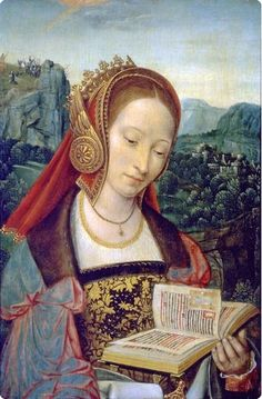 Master of Frankfurt (1460-ca 1533), St. Catherine, oil on panel. (Flemish Renaissance)