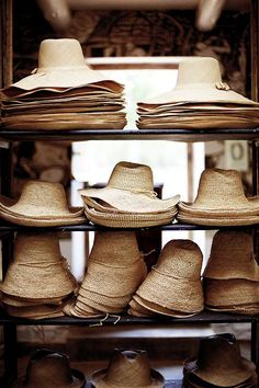 a straw hat for summer