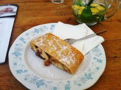 """Prague local Clare, from Bohemian Bites, on our food tour: """"Not only did I discover some fantastic new places, but I discovered some new foods [.] I ate whatever was put in front of me and I liked it."""" Thanks for a great article, Clare! Prague Tours, Apple Strudel, Walking Tour, New Recipes, Bohemian, Foods, Dishes, Eat, Breakfast"""