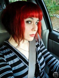 Just cut my hair Ramona Flowers style. Loving it :D