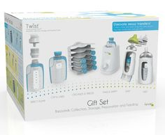 Amazon.com : Kiinde Breast Milk Storage Twist Gift Set : Baby Feeding Gift Sets : Baby