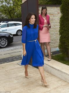 Princess Mary dazzles in a JUMPSUIT at the Women Deliver reception in Denmark | Daily Mail Online
