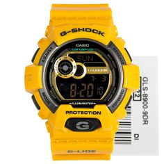 Casio G-Shock G-Lide Sports Watch GLS-8900-9DR GLS8900