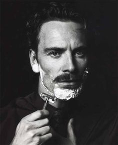 Gentleman Style Michael Fassbender, Moustaches, Beautiful Men, Beautiful People, Pinup, Foto Portrait, Man Portrait, No Photoshop, Brad Pitt