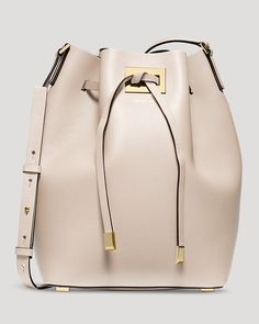 @michaelkors  Shoulder Bag - Large Miranda Drawstring Bucket | Bloomingdale's