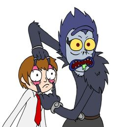 Rick and Morty x Death Note