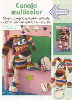 Fany Crochet: conejo colorines