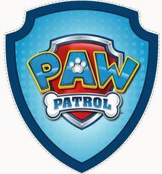 Free Printable image of Paw Patrol. 4th Birthday Parties, Birthday Fun, Third Birthday, Birthday Ideas, Escudo Paw Patrol, Imprimibles Paw Patrol, Paw Patrol Badge, Ryder Paw Patrol, Cumple Paw Patrol