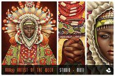 studiomuti, illustrations, aoa, artist, typography