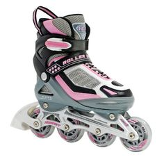 cab0f2eb58f Children's Inline Skates - Roller Derby Hornet Pro Adjustable Girls Inline  Skates Skate * Continue to the product at the image link.