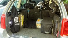 Dont mess up your car with your windsurfing equipment. It is nice to have everything in order.