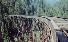 An abandoned train trestle at Ladner Creek near Hope. Just one of 15 unusual hikes near Vancouver. Abandoned Train, Abandoned Places, Vancouver Hiking, Backpacking Canada, Hiking Training, Visit Canada, Canada Trip, Canadian Travel, Photography Basics