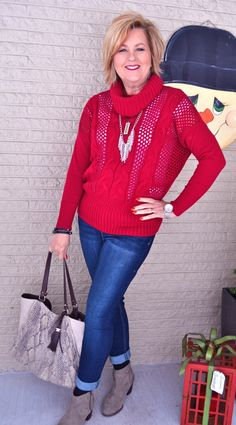 50 Is Not Old | Strangest Pet | Sweater + Jeans | Fashion over 40 for the everyday woman
