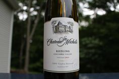 """Chateau Ste Michelle Riesling - Check out my review of this """"clean"""" Washington State Riesling."""