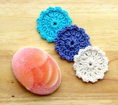 ANOTHER GREAT IDEA FOR A MOTHERS DAY GIFT https://www.etsy.com/listing/122371573/crochet-facial-scrubbies-set-of-3-100?ref=shop_home_active_6