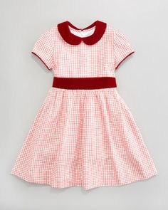 Busy Bees / Anne Check Dress